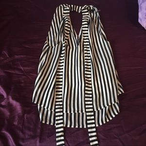 Banana republic striped tank